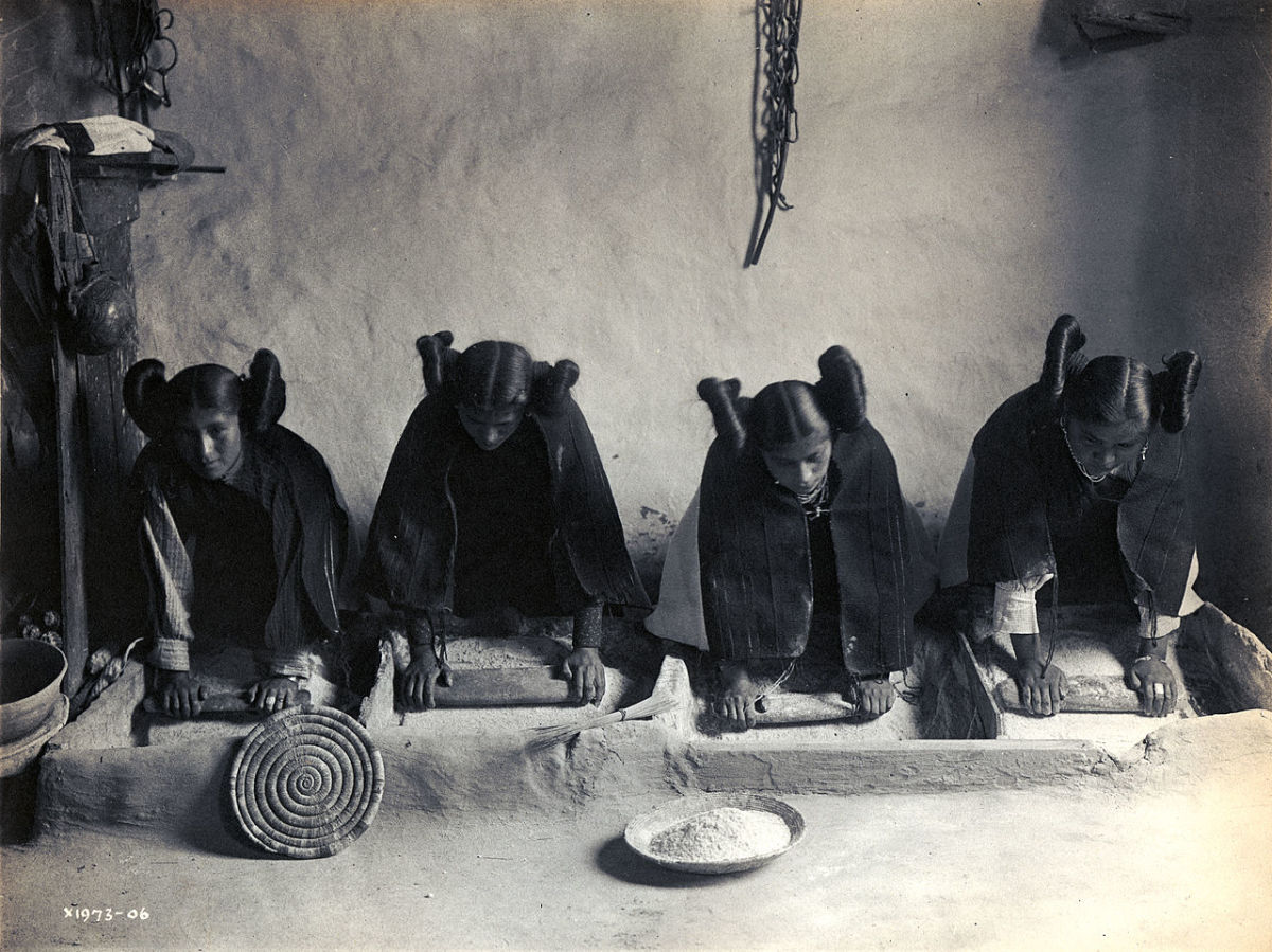 Photo by Edward S. Curtis, 1906