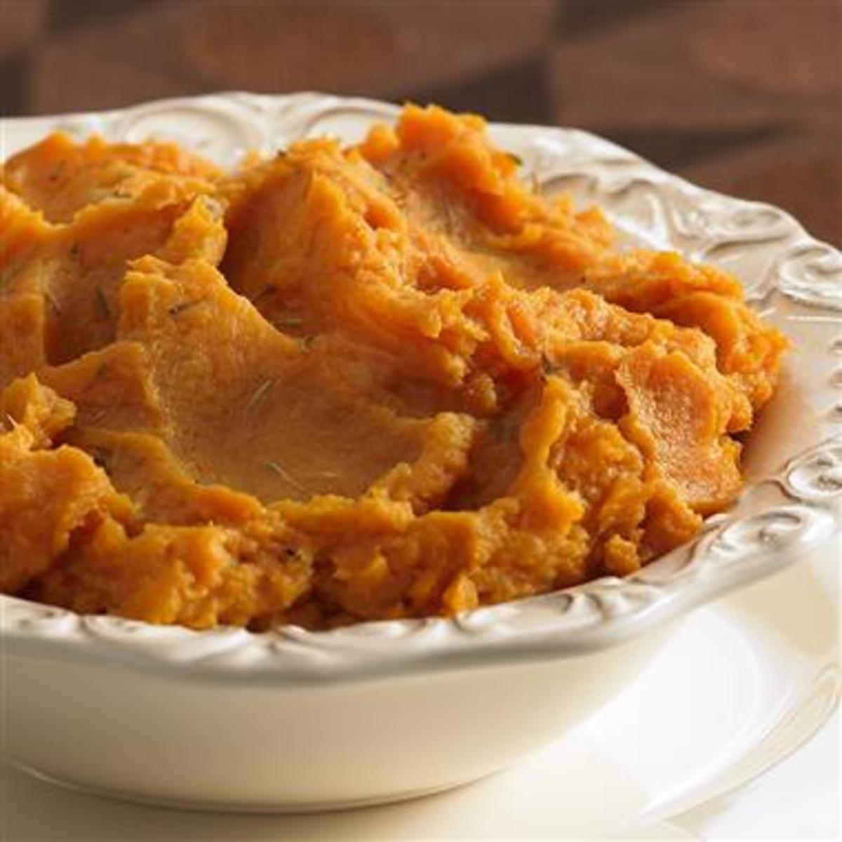 Mashed Sweet Potatoes Are Oh So Delicious