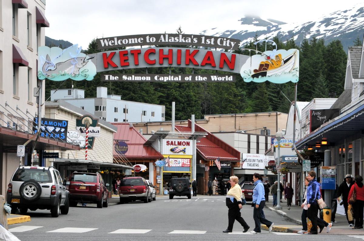 Ketchikan Alaska https://web.archive.org/web/20161014152543/http://www.panoramio.com/photo/33880725
