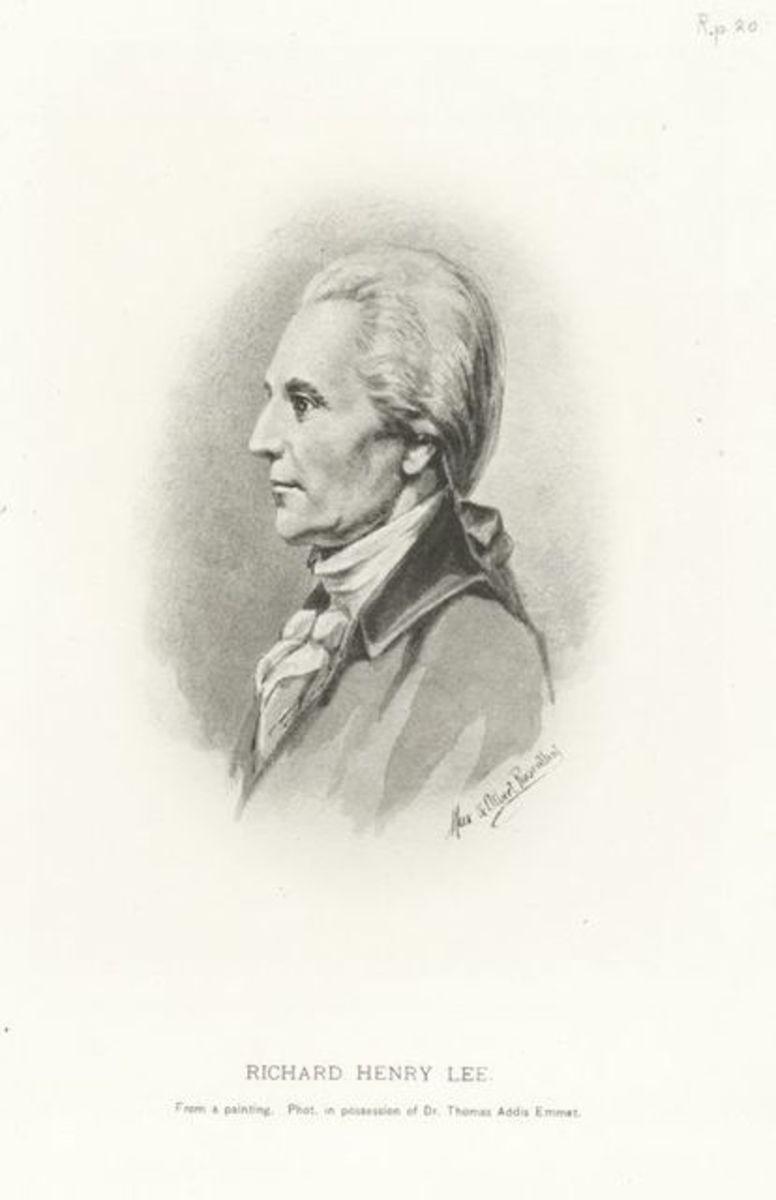 Portrait of Richard Henry Lee.