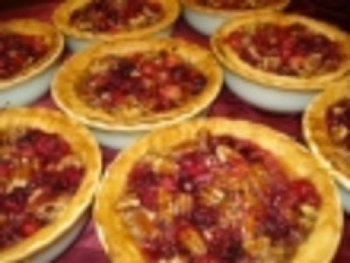 pecan & cranberry