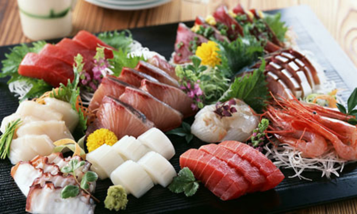 Best Japanese Food, From Sashimi / Sushi to Street Food Like Yakitori