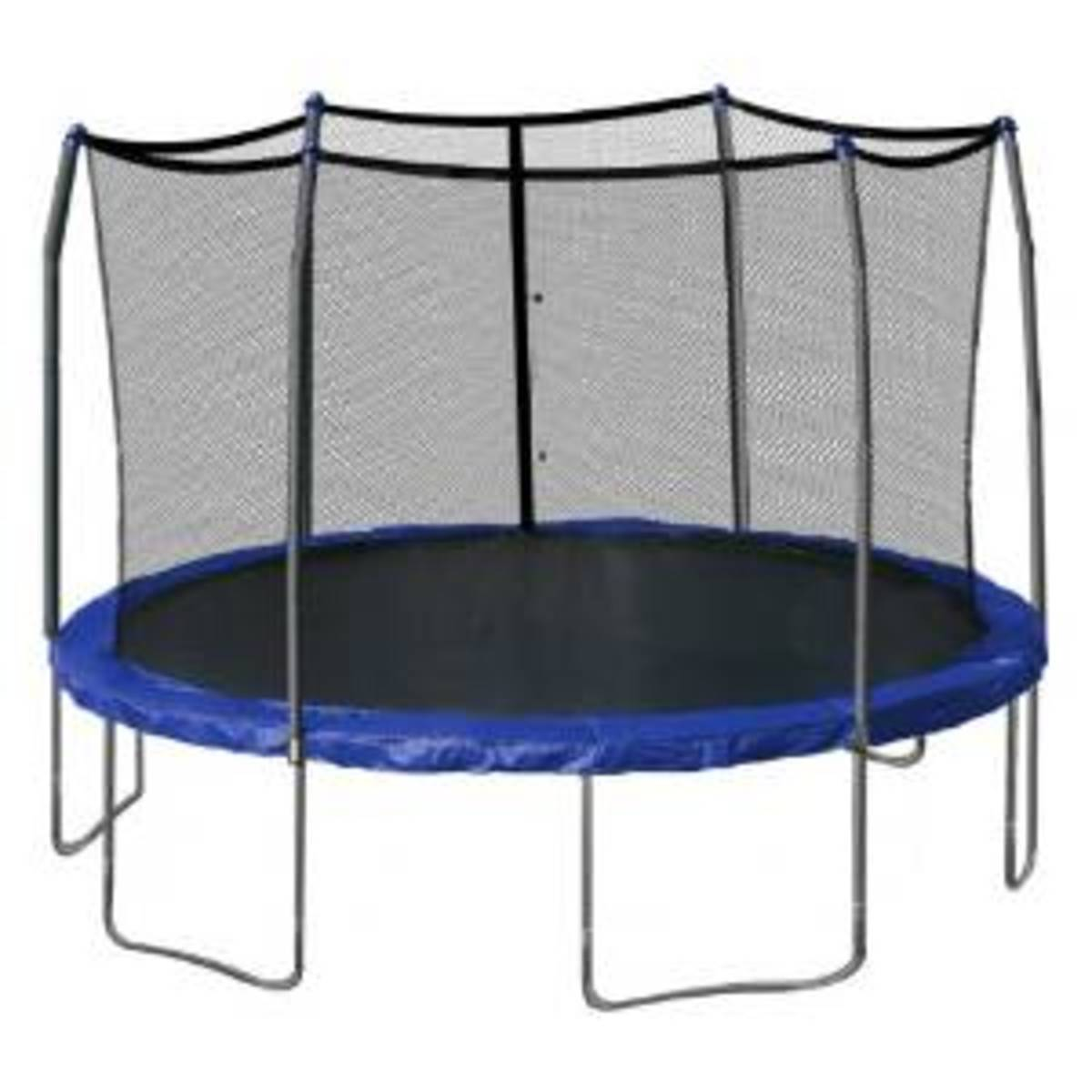 Jump into Spring with a Backyard Trampoline
