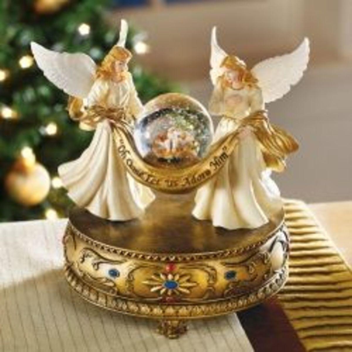 Angel Snow Globes