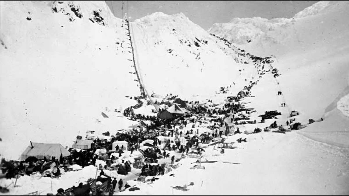 The Klondike Gold Rush of 1896