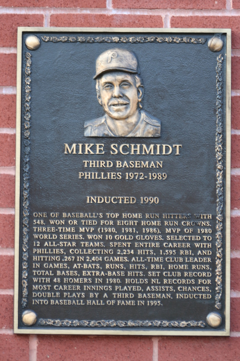Mike Schmidt got a late start to the decade, but he quickly established himself as a reliable power threat.