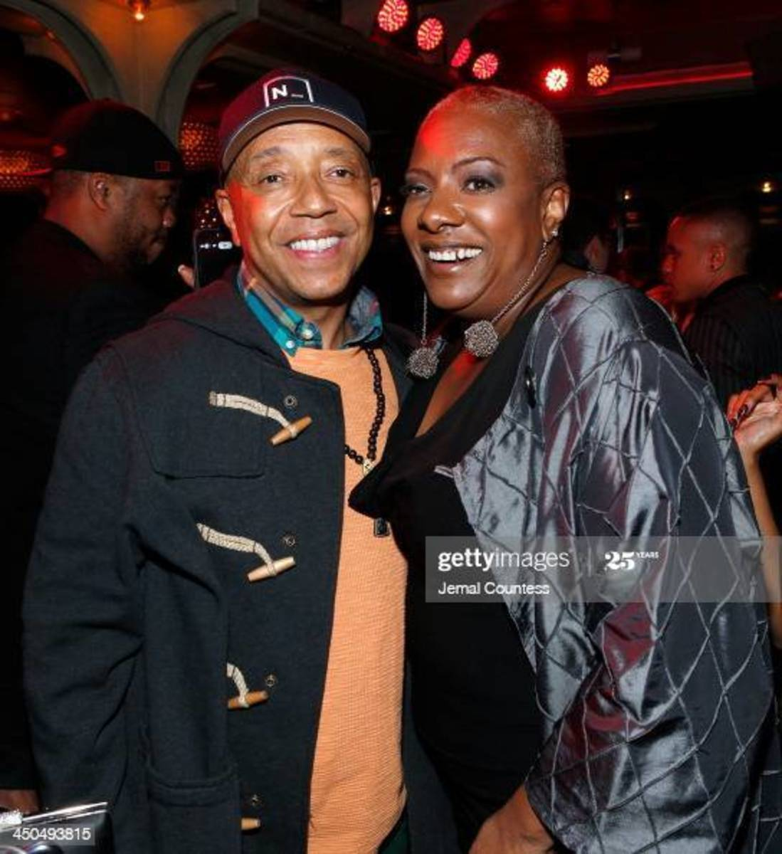 Alyson reunited with one of her earlier mentors and Def Jam label founder, Russell Simmons