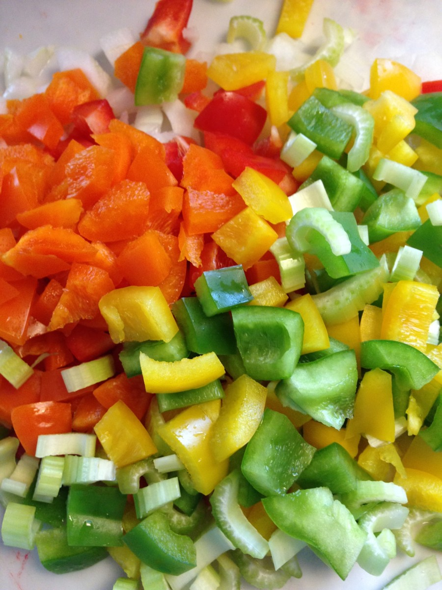 Use whatever choice of vegetables you want.