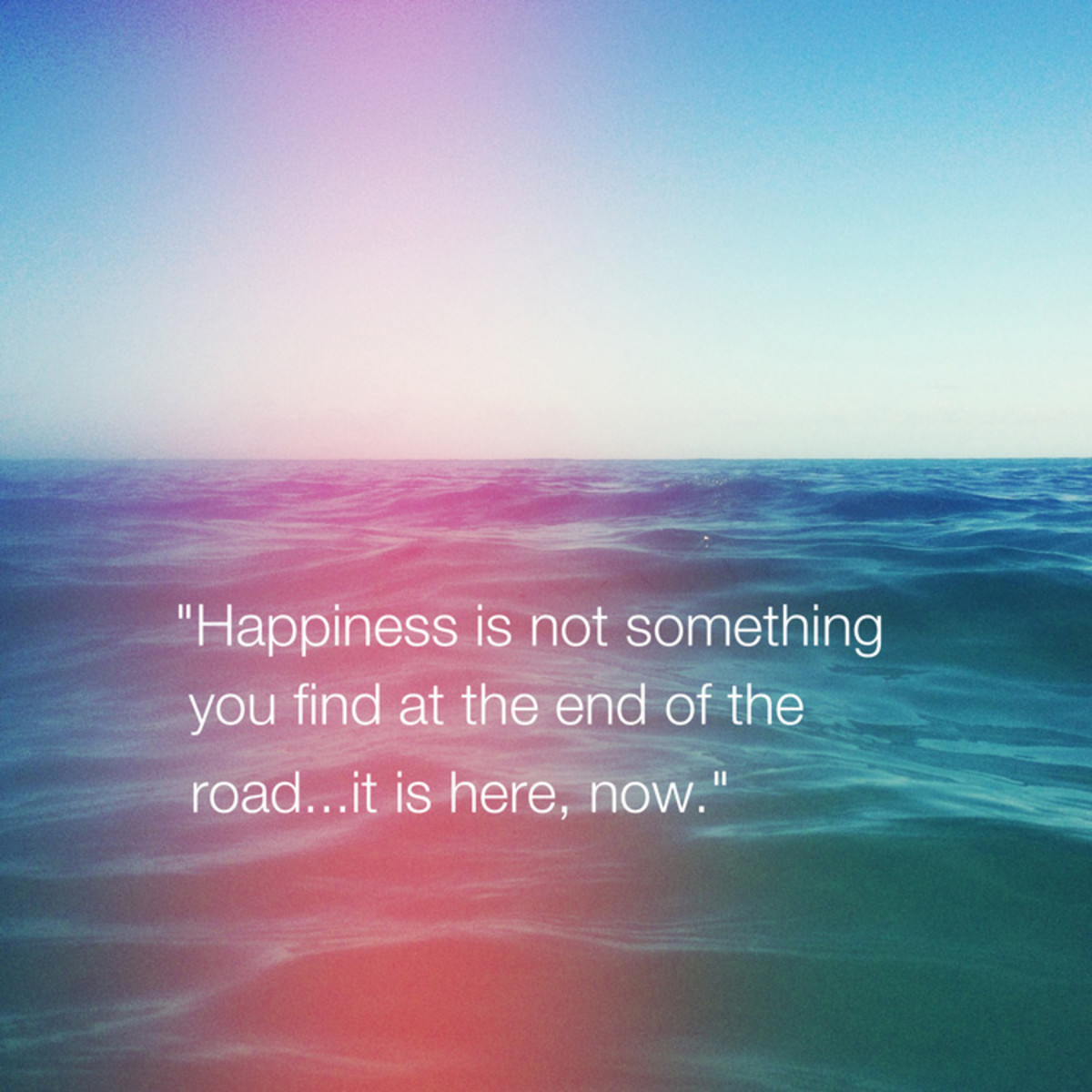 The Secret to Creating Happiness