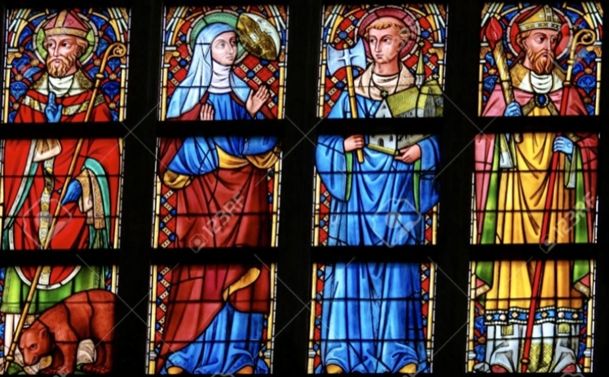 """In Thanksgiving for """"Stained Glass Saints"""""""