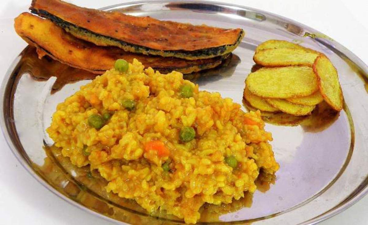 Special rainy day khichuri