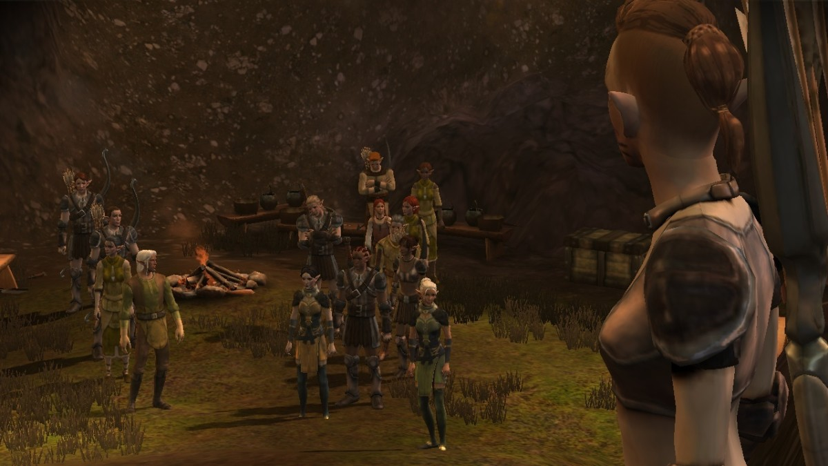 My Lyna Mahariel says goodbye to her clan.