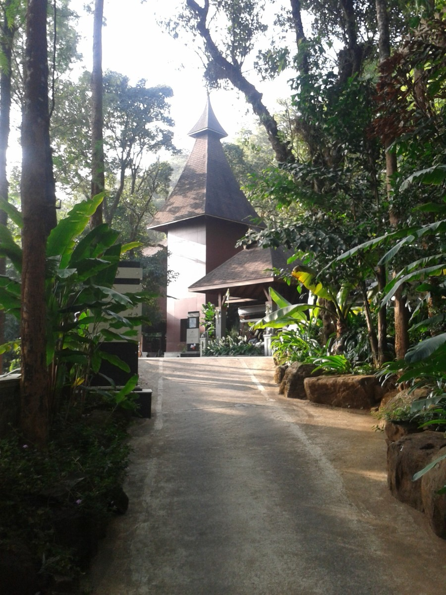 The Tamara Coorg Resort Restaurant and office building
