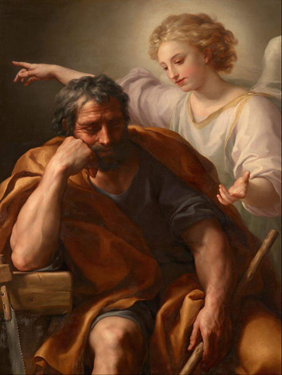 Joseph's dream of the angel