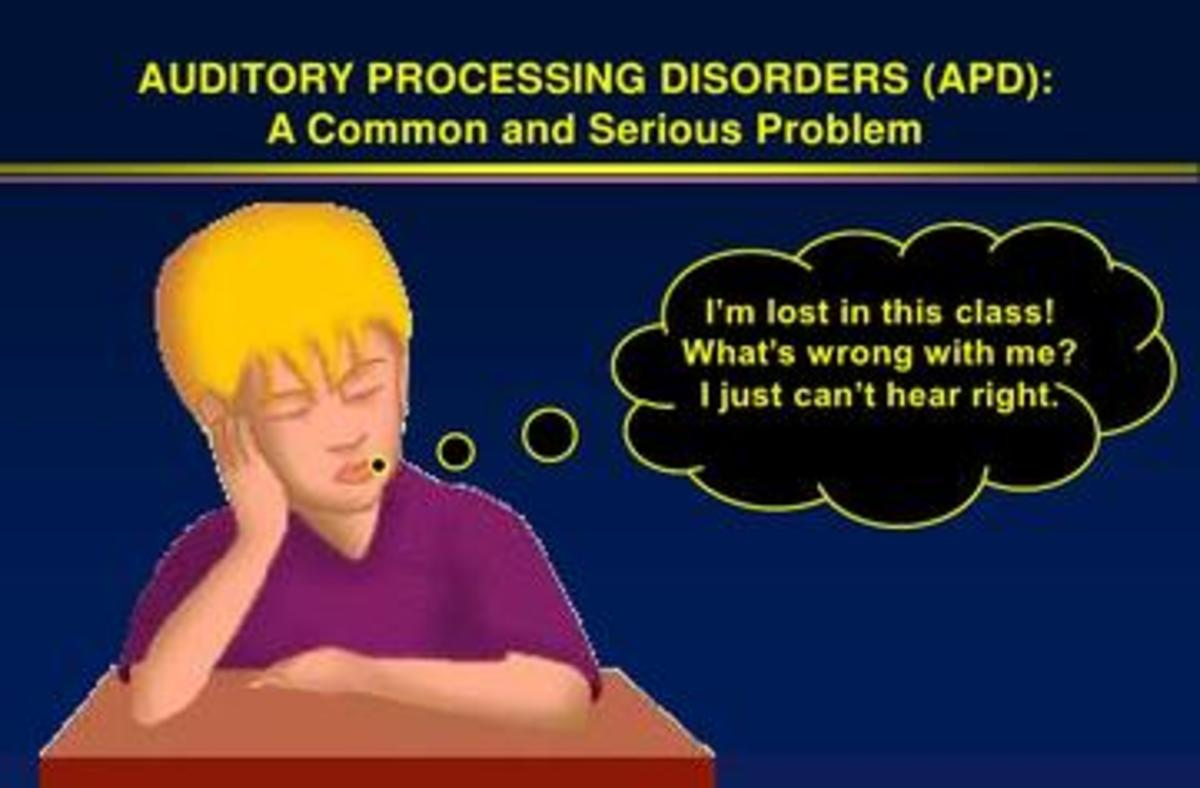 What many students with disorder may feel.