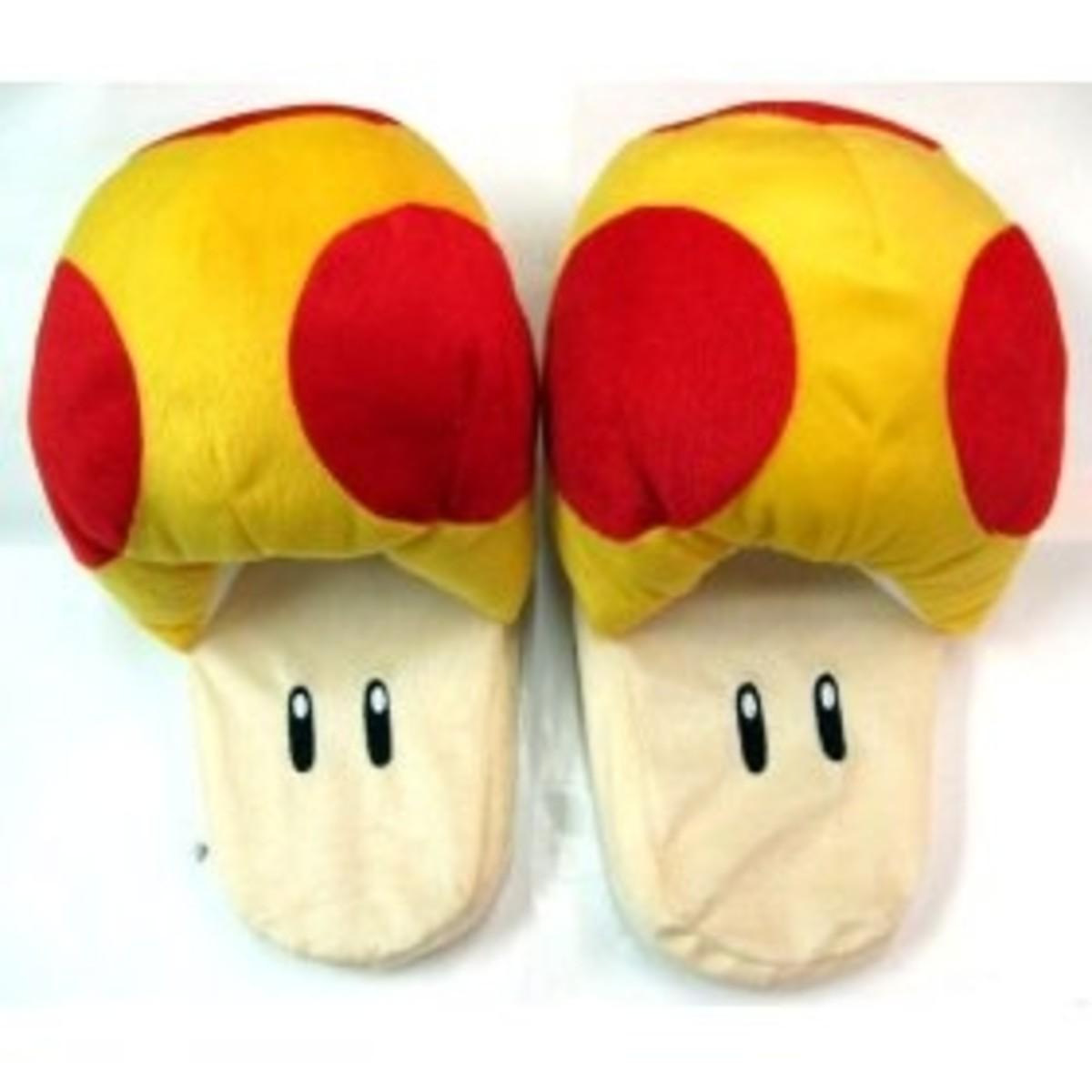 Super Mario Bro. Mega Mushroom Slipper