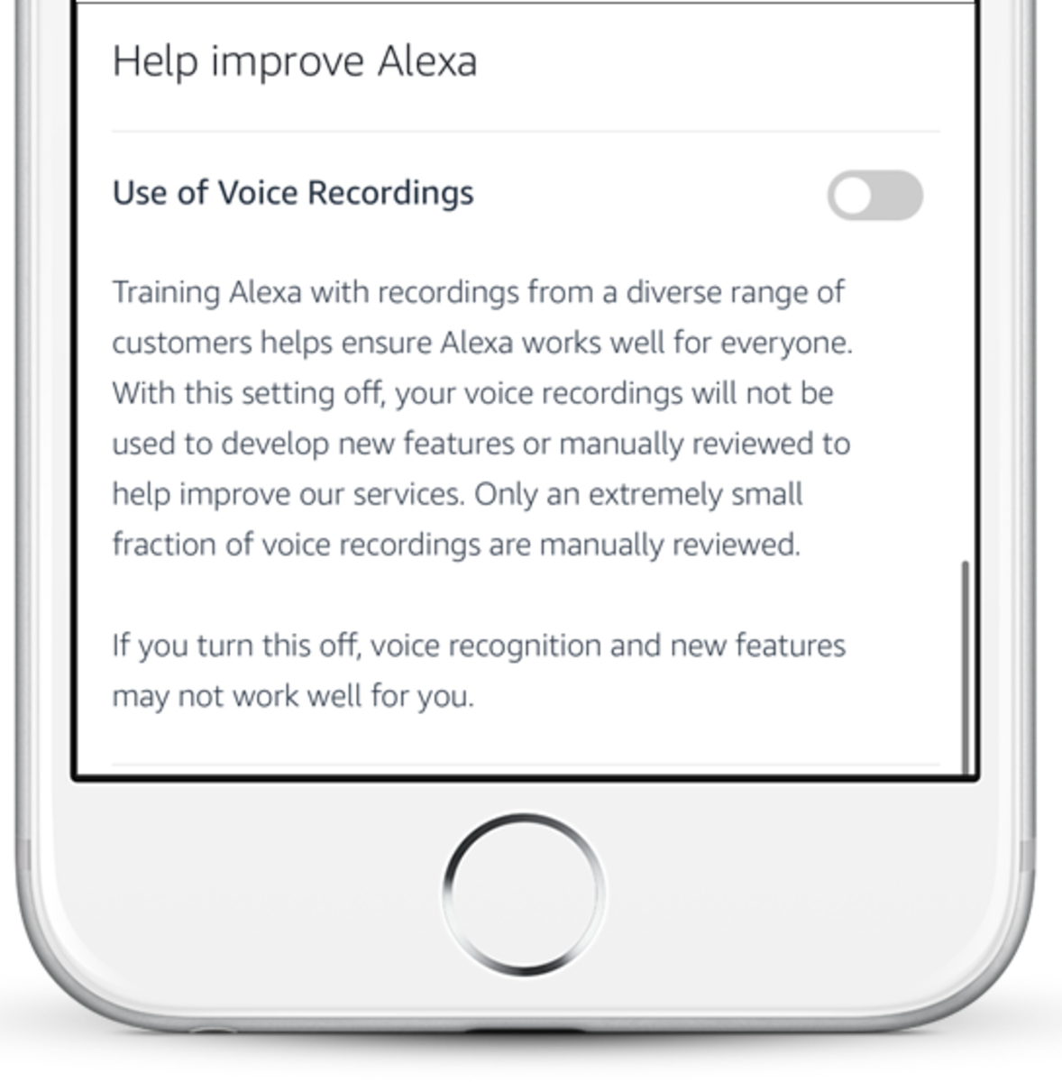 Are Amazon employees listening to your recordings? Not if you disable this option.