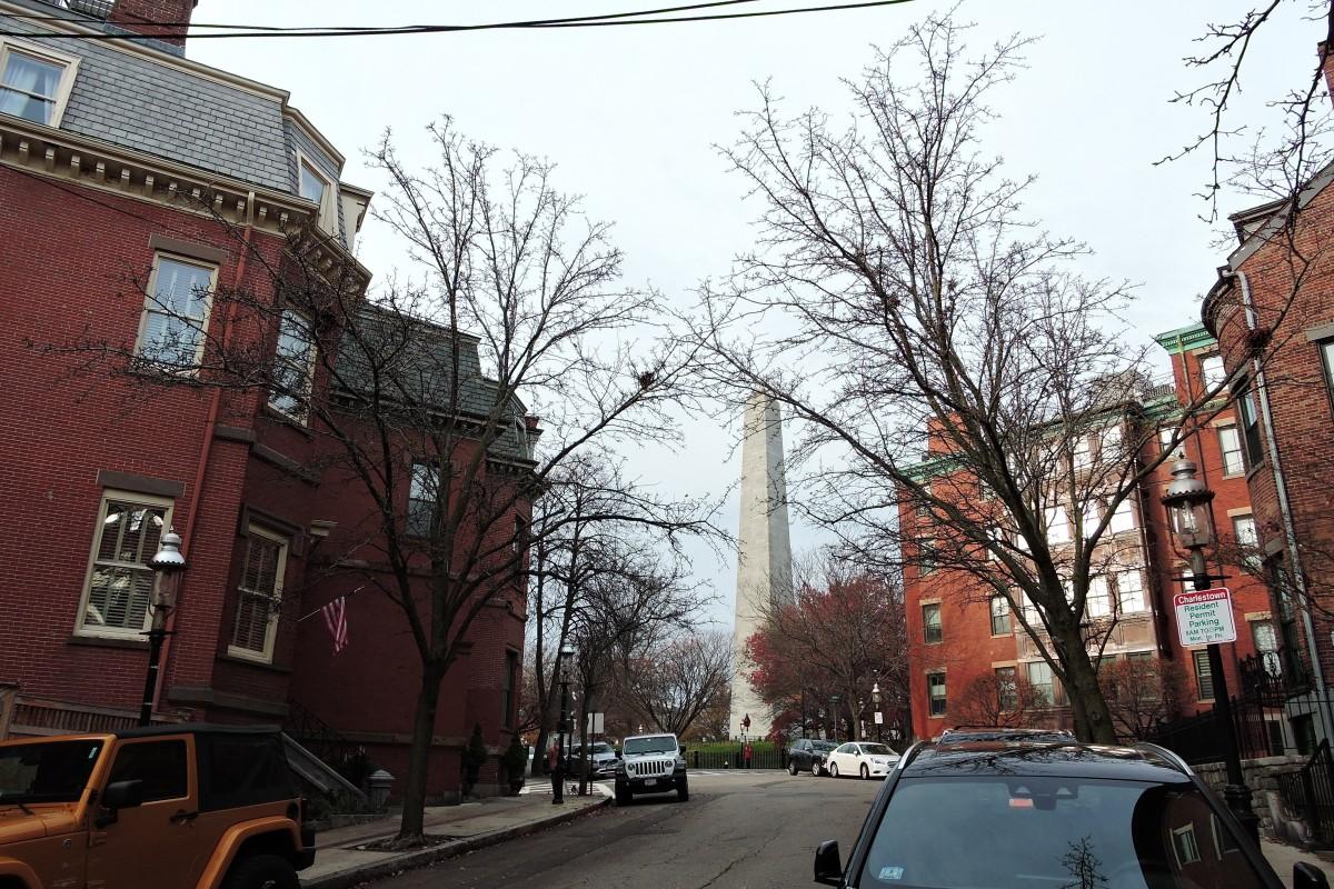 Exhibit 1: Walk in Boston # 5, the Historic Charlestown