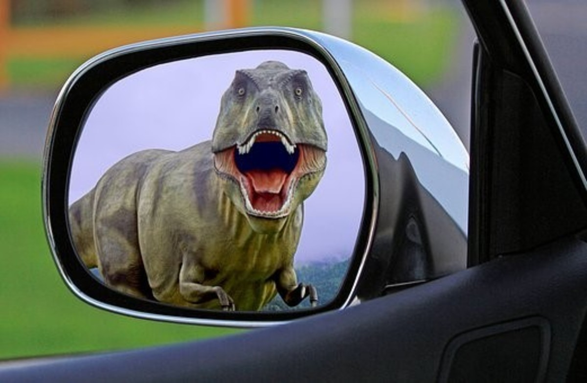 Do you feel that you are behind the times? Take a look in the rear view mirror—do you see a dinosaur?
