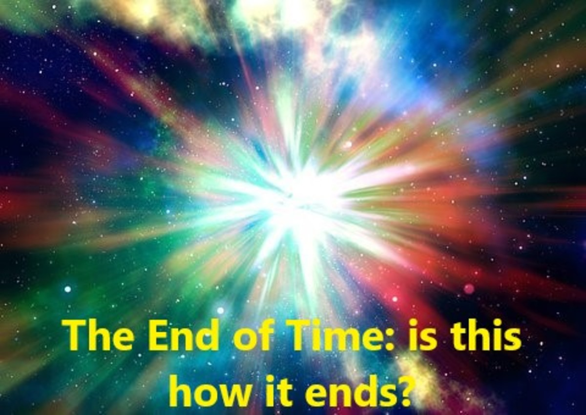 The Big Bang is thought to have started everything. Perhaps the end of time will be brought about in the same way.