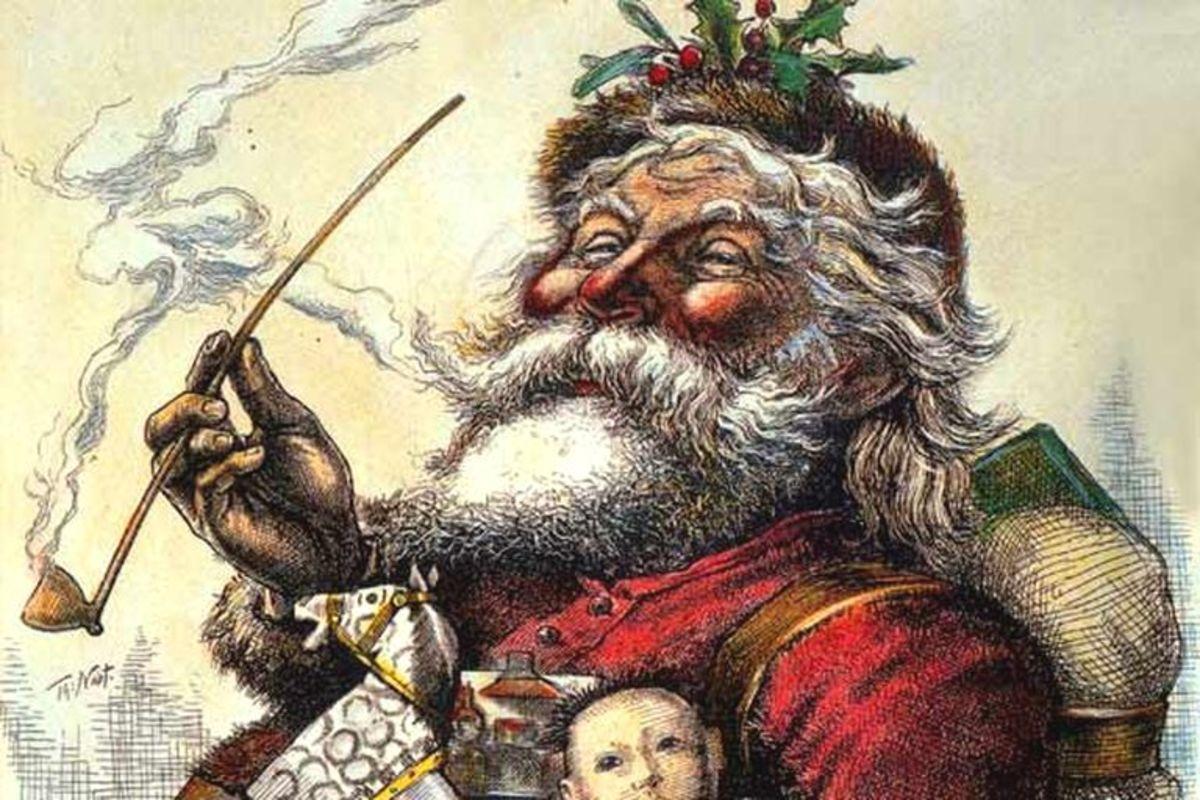 Thomas Nast's Santa - 1881