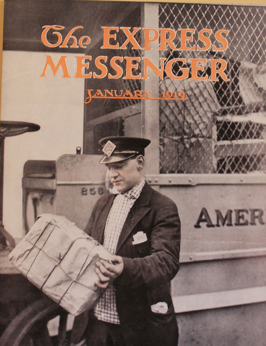 Vintage magazine for baggage agents