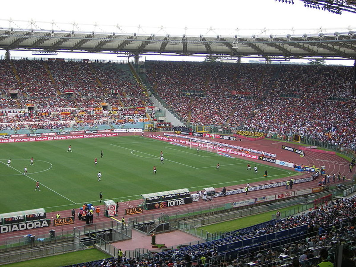 Stadio Olimpico has frequently hosted the Rome Derby.