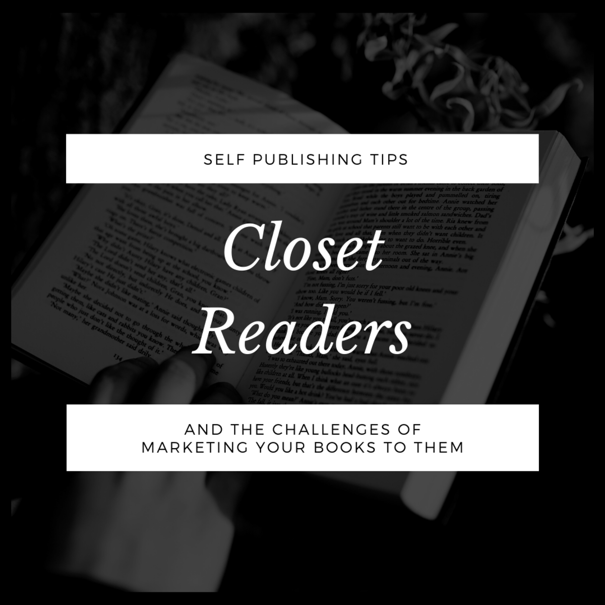 Book Marketing Challenge: Closet Readers