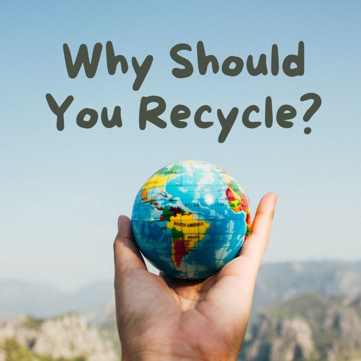Here are the top five reasons why you should recycle!