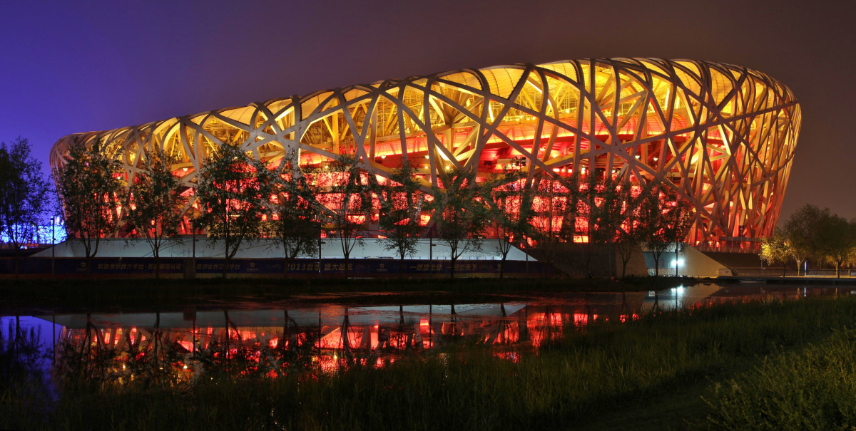 Beijing National Stadium by Ai Weiwei
