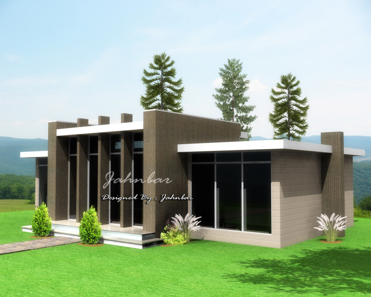 Modern house under 100k