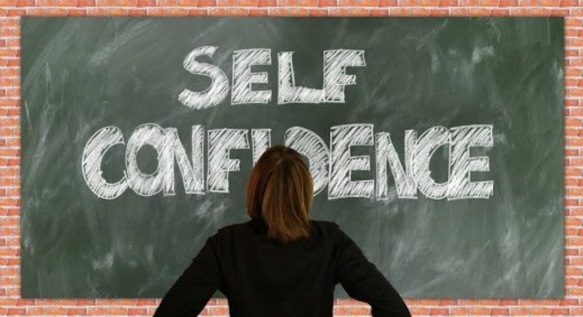 Low self esteem due to physical appearance--but that can be worked upon!
