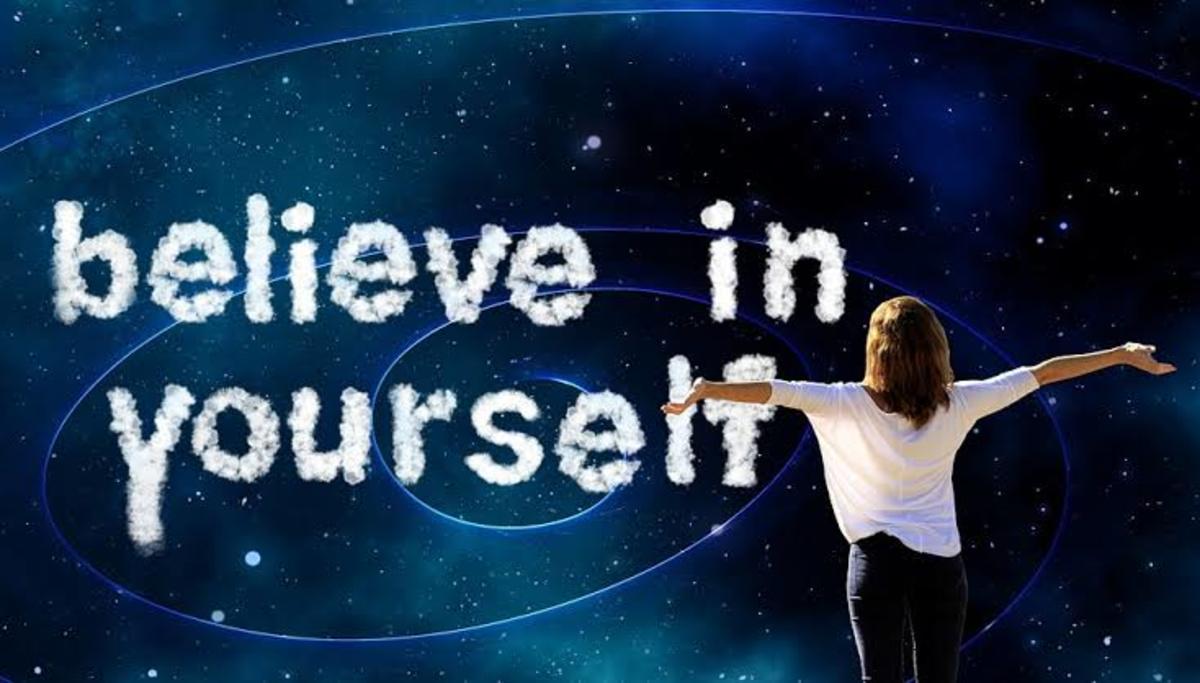 Develop self confidence