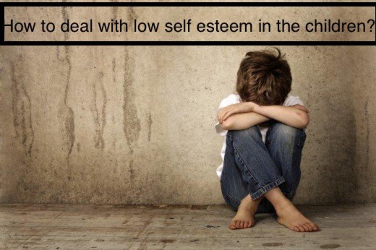 Signs of low self esteem in the children