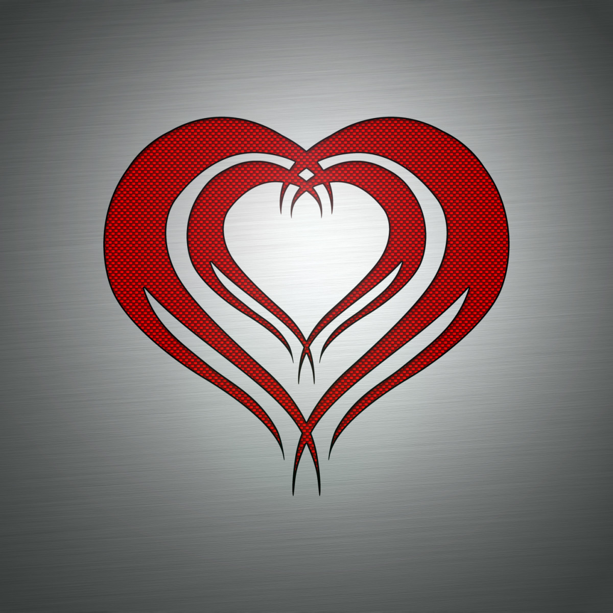 A simple tribal heart flash