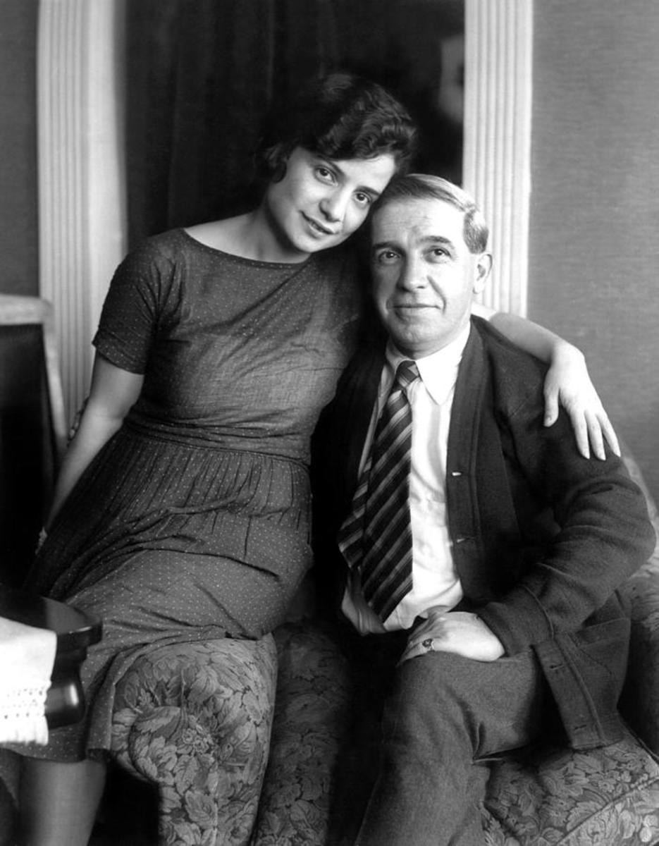 Charles Ponzi and wife 1920s