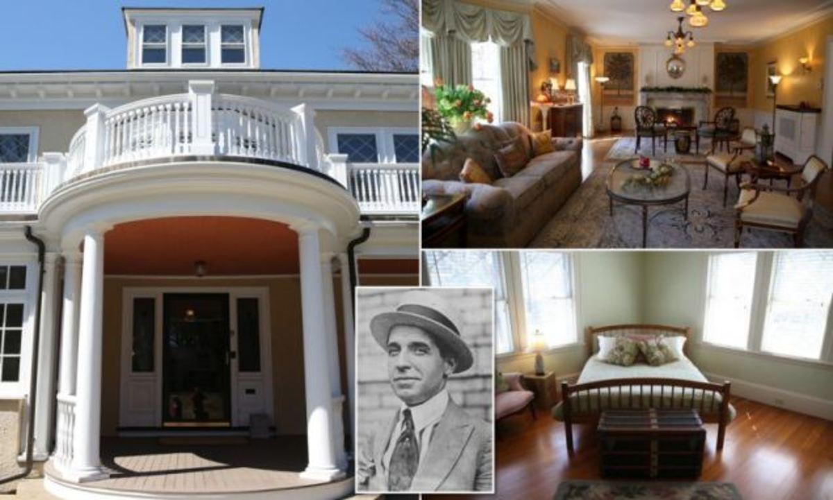 Charles Ponzi's house