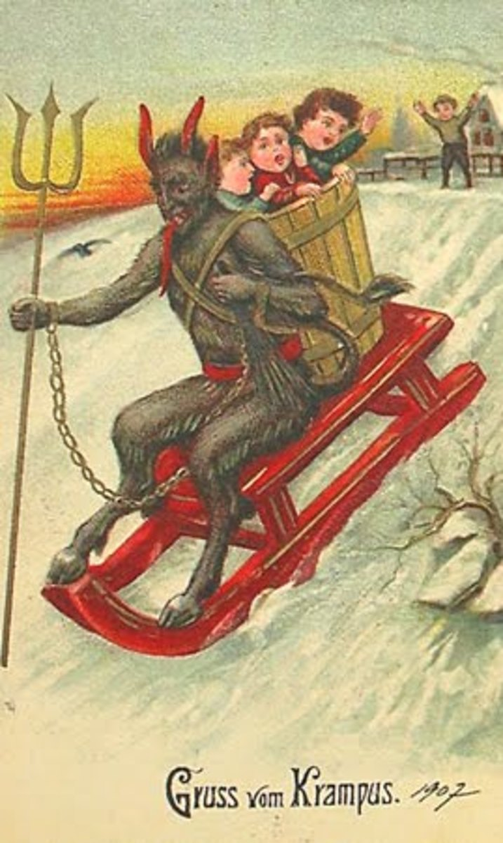 Evil Santa!? The Truth about the beginning of Christmas!