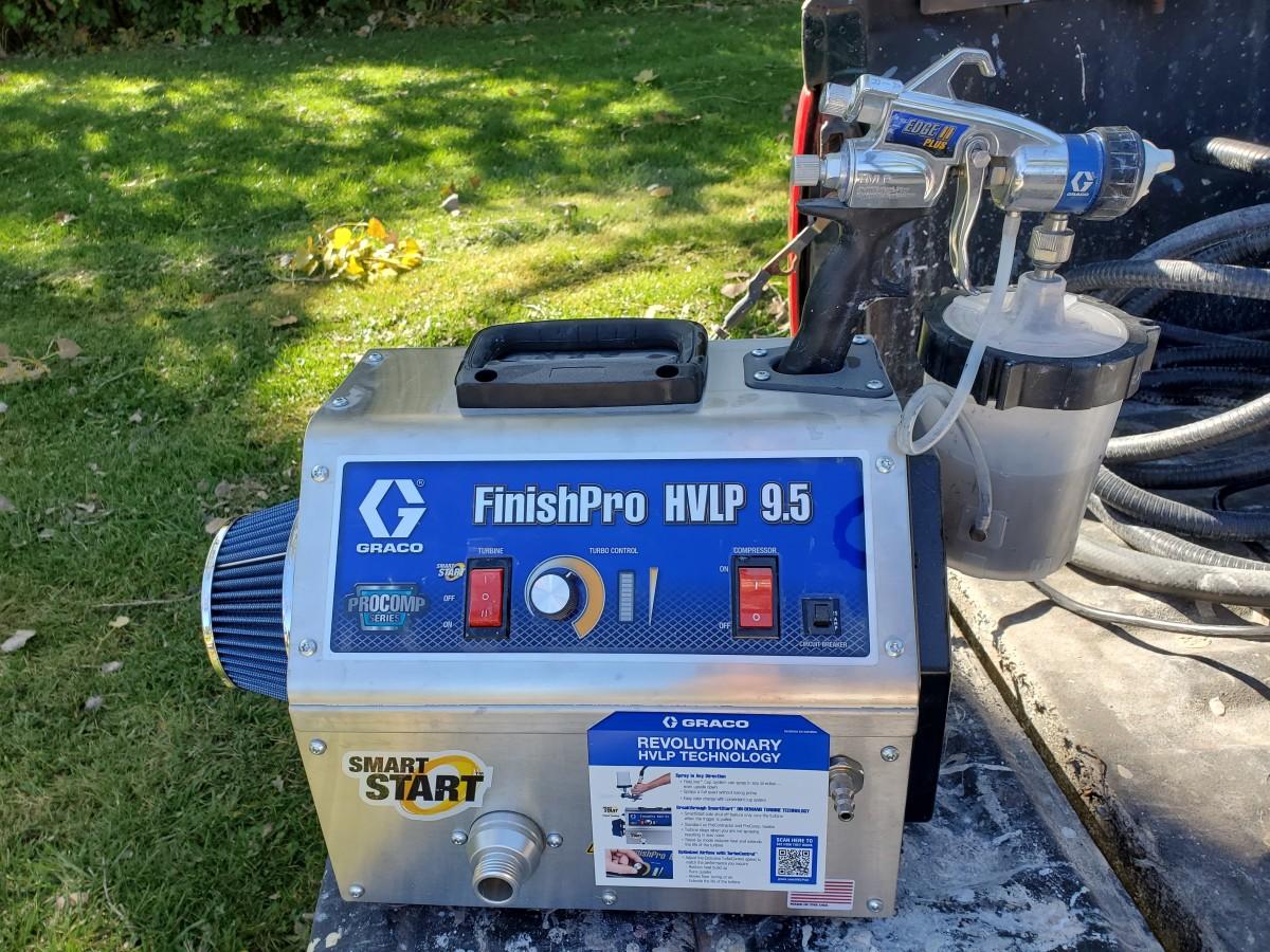 My Graco 9.5 HVLP sprayer.