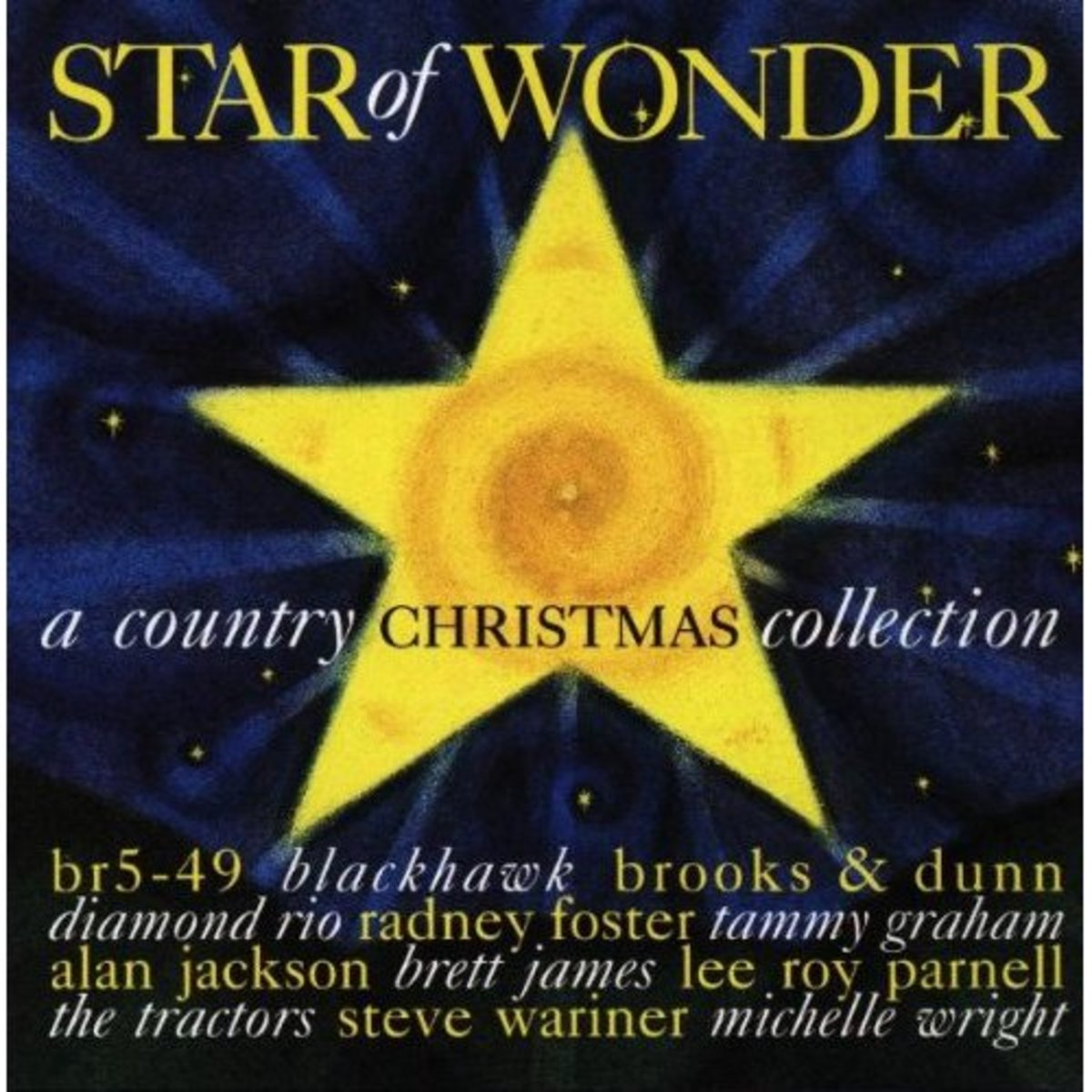 Star of Wonder ~ A Country Christmas Collection ~ for those that want a variety of country Christmas music, on one CD.