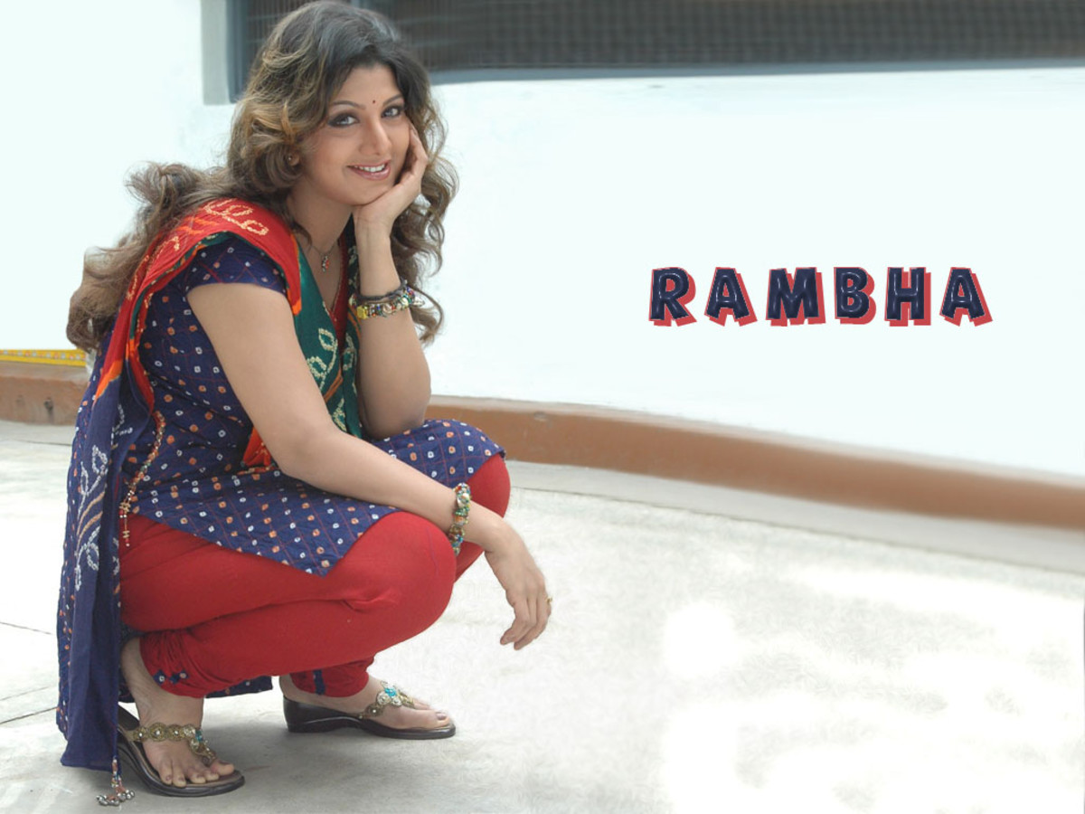 Rambha's beautiful smile
