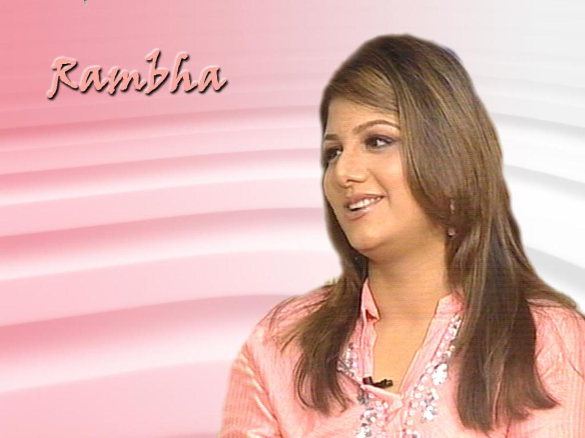Actress Rambha Wallpapers