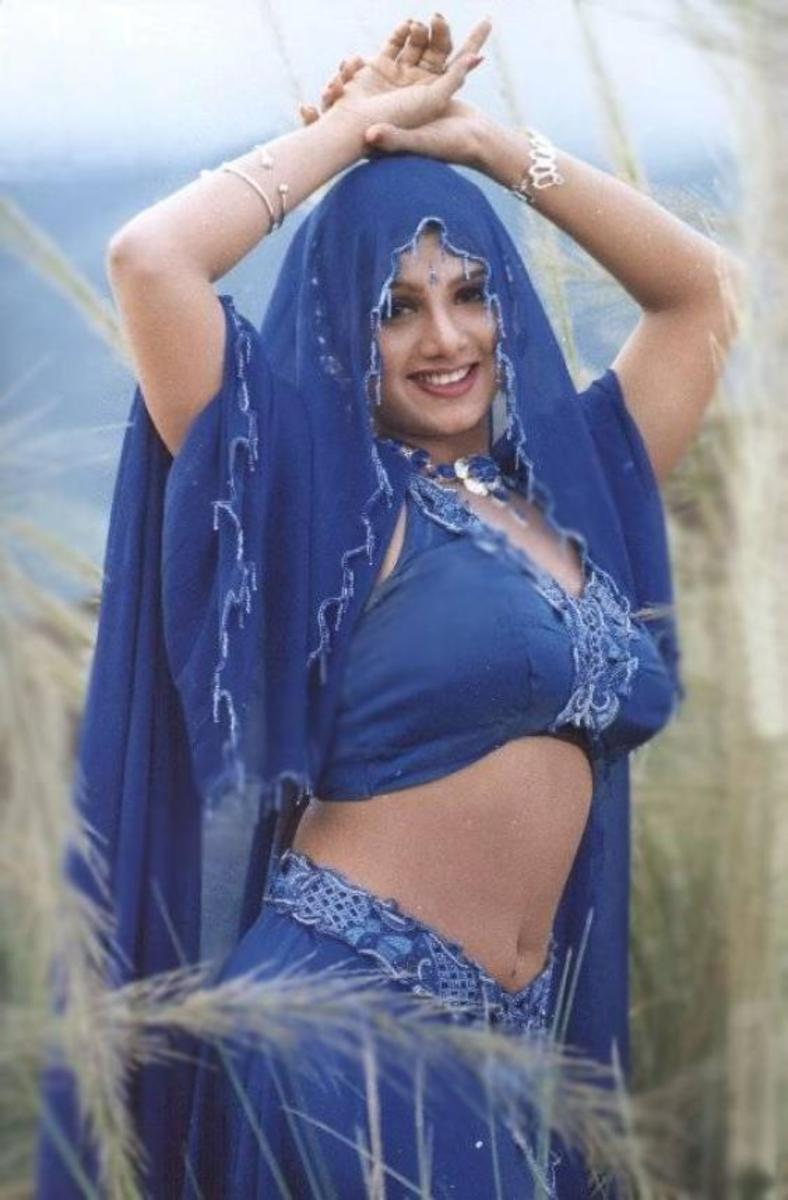 Rambha in a field