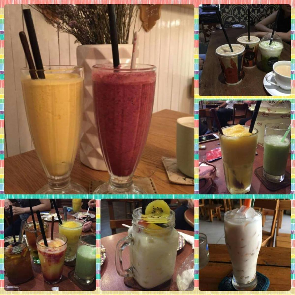 Smoothies smoothen your day!