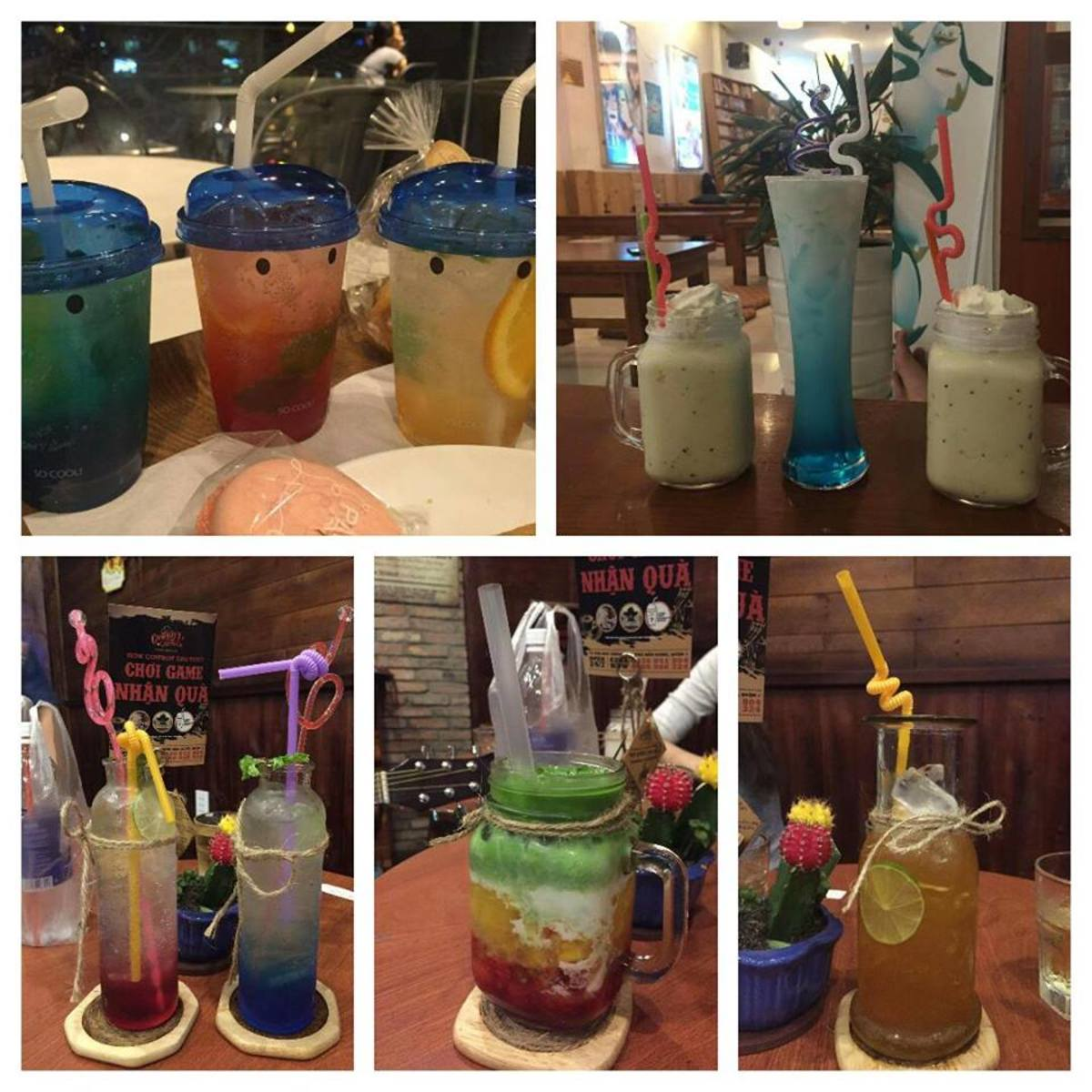 Colorful and flavor-ful bubble tea