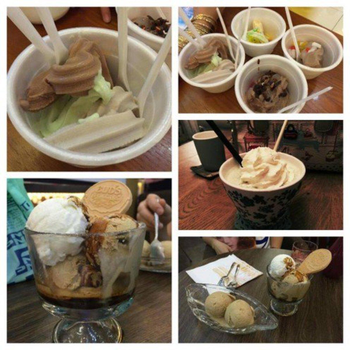 Ice cream is everywhere!
