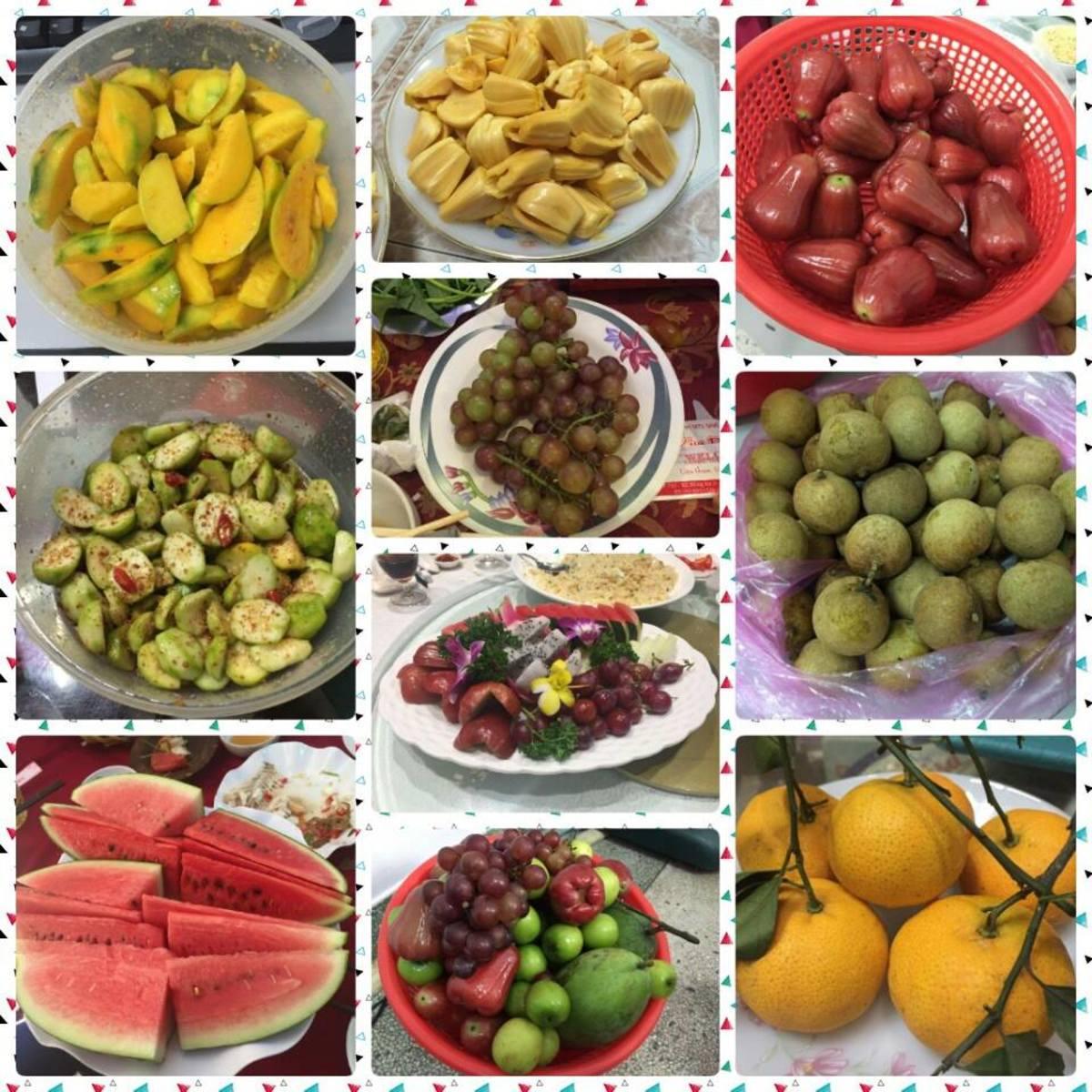 Fruit paradise in the tropics!