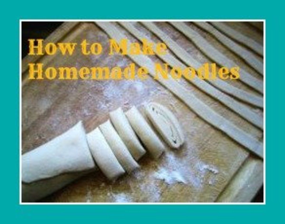 How to Make Homemade Noodles