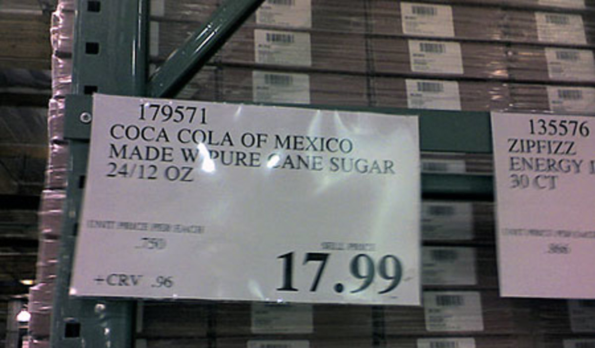 Serious Eats reports Costco is selling Mexican Cola with Real Sugar