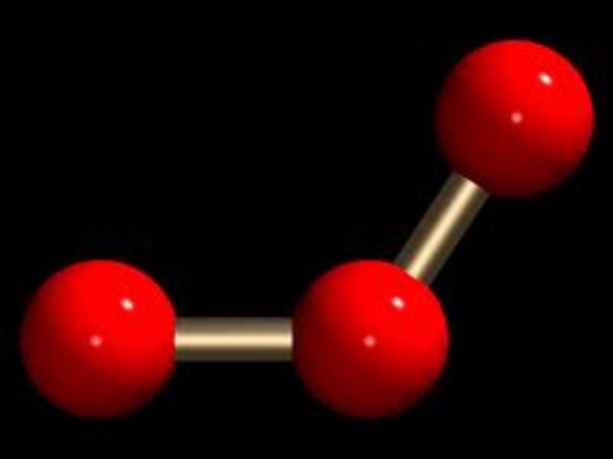 Ozone Symbol - O3